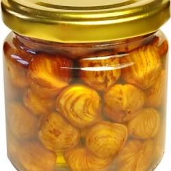 Мёд акациевый с фундуком, 215г